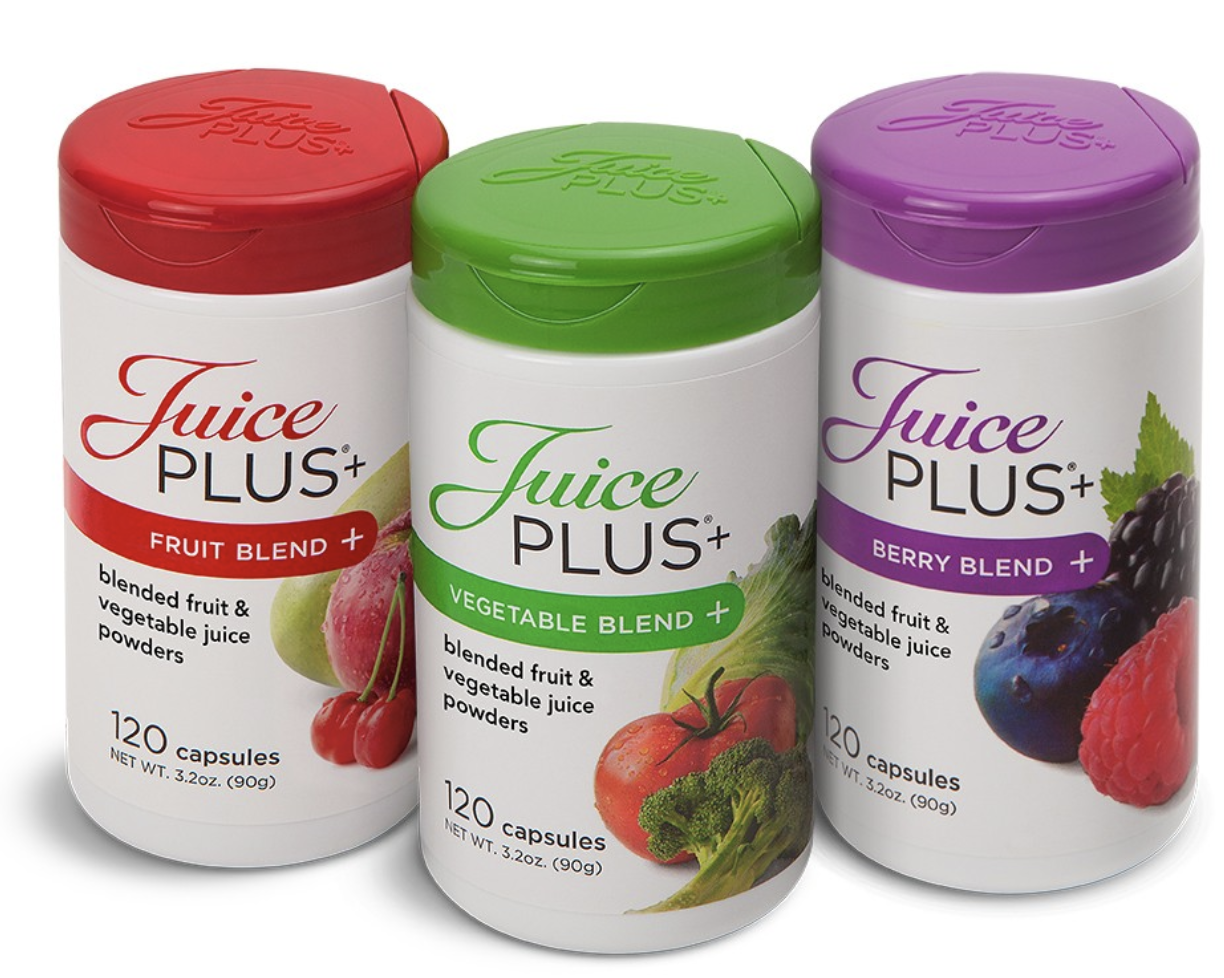 Juice Plus+ Fruit, Vegetable, and Berry Blend Capsules